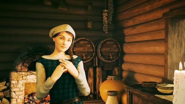 Eine Dorfbewohnerin in Medieval Dynasty