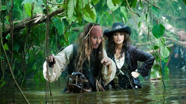 Johnny Depp und Penelope Cruz in Fluch der Karibik