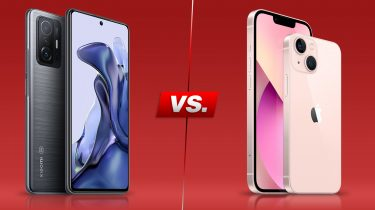 Xiaomi 11T vs. iPhone 13: Die Ausstattung der Top-Handys im Vergleich