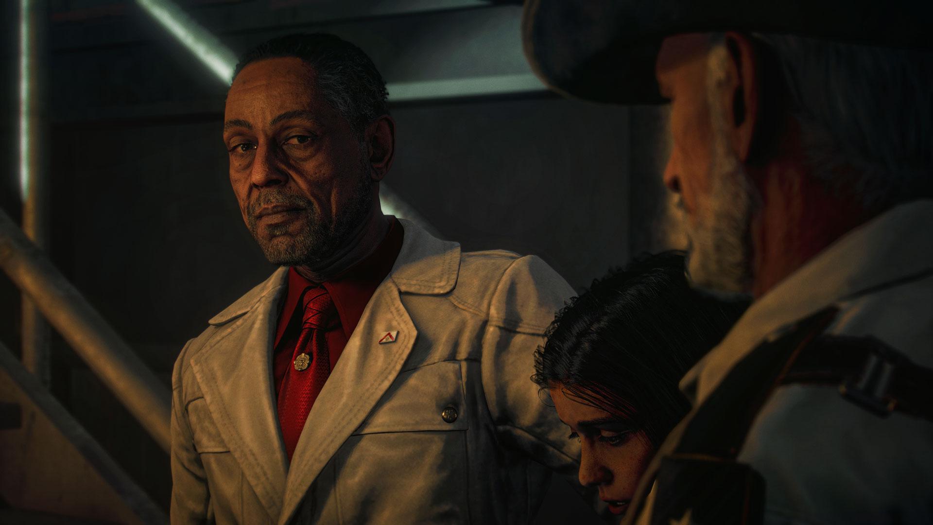 """Antón Castillo (Giancarlo Esposito) im Spiel """"Far Cry 6""""."""