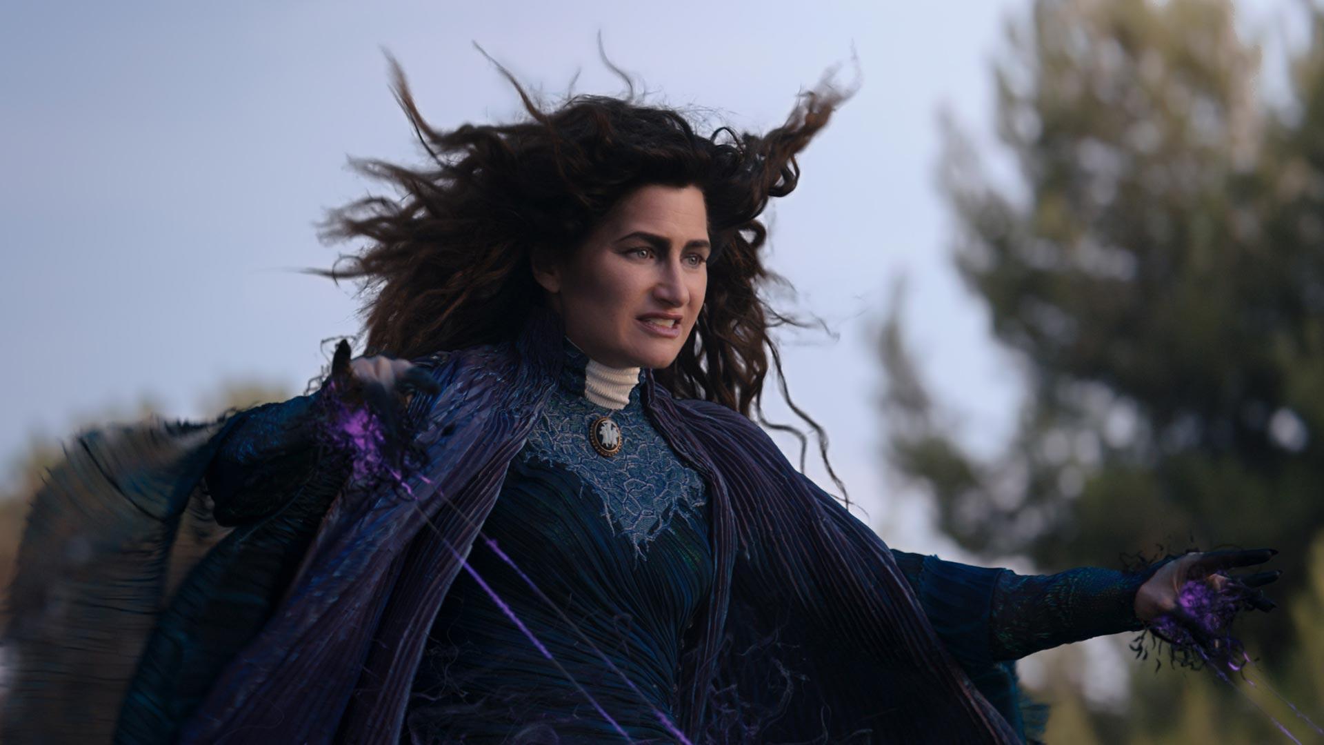 Die Hexe Agatha Harkness (Kathryn Hahn) in der Serie WandaVision
