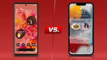 Pixel 6 vs. iPhone 13: Gibt es einen Gewinner beim Smartphone-Vergleich?