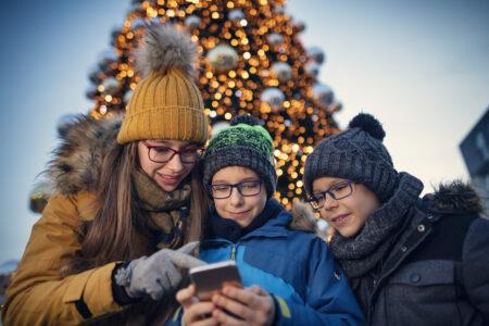 Wir feiern Weihnachten – digital