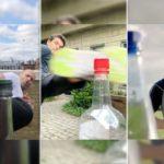 (اختبر قوّتك) تحدي غطاء الزجاجة على السوشيال ميديا.. كيف شارك المشاهير؟