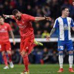 ريال مدريد إلى المركز الثالث في الدوري برباعية هزَّت شباك إسبانيول