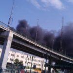 حريق في محطة مصر   وفي كلام عن 24 واحد ماتوا