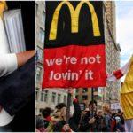 التحرش الجنسى فى اوروبا.. موظفات ماكدونالدز يتركن عملهن بسبب الصور الجنسية!