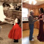 50 صورة لأشخاص من مختلف أنحاء العالم صوّروا نفس اللقطة تاني بعد سنين!