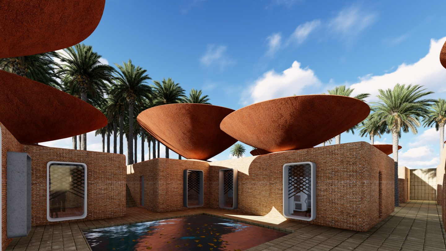 Bowl Shaped Roofs Collect Rainwater In Iran What Design Can Do