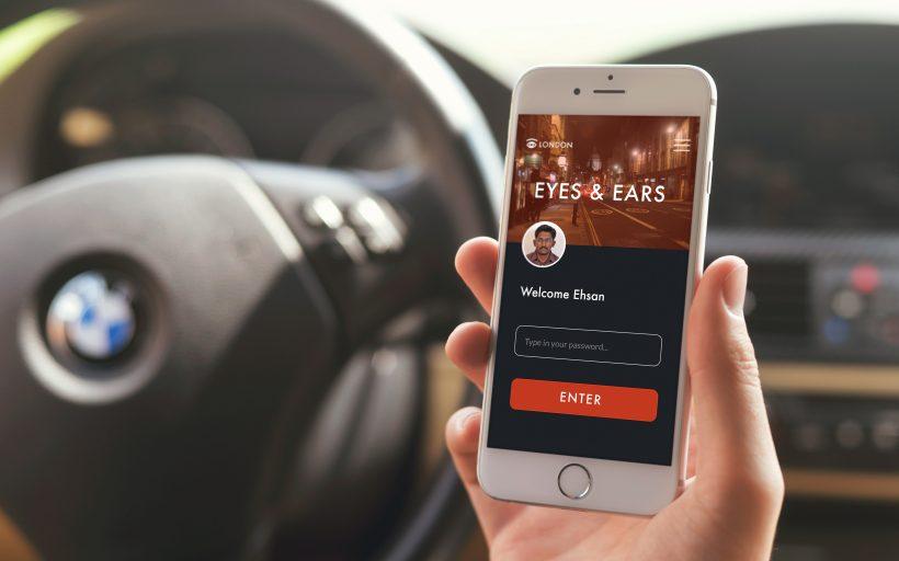 Eyes and Ears – Intelligence Mapping Platform – UK track
