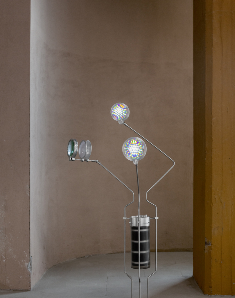 The Electric Life installation is entirely powered by micro-organisms that have electrons as a waste product.