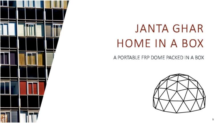 JANTA GHAR : HOME IN A BOX