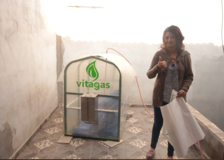 Vitagas: the household digesters that transform organic waste into biogas.