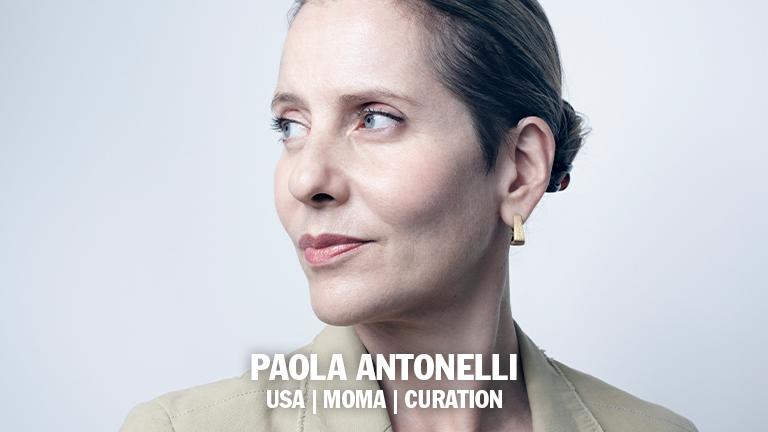 PAOLA ANTONELLI   MOMA