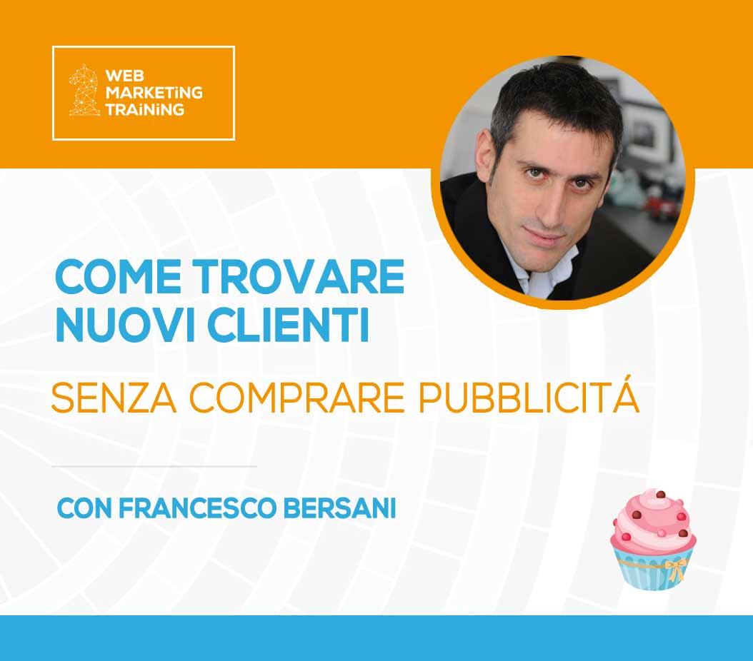 corso content marketing con Fracesco Bersani