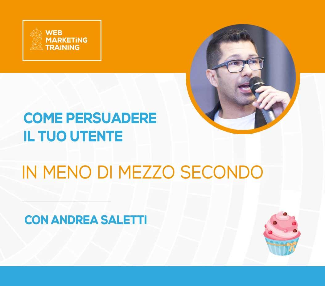 Corso di NeuroMarketing applicato al Web con Andrea Saletti