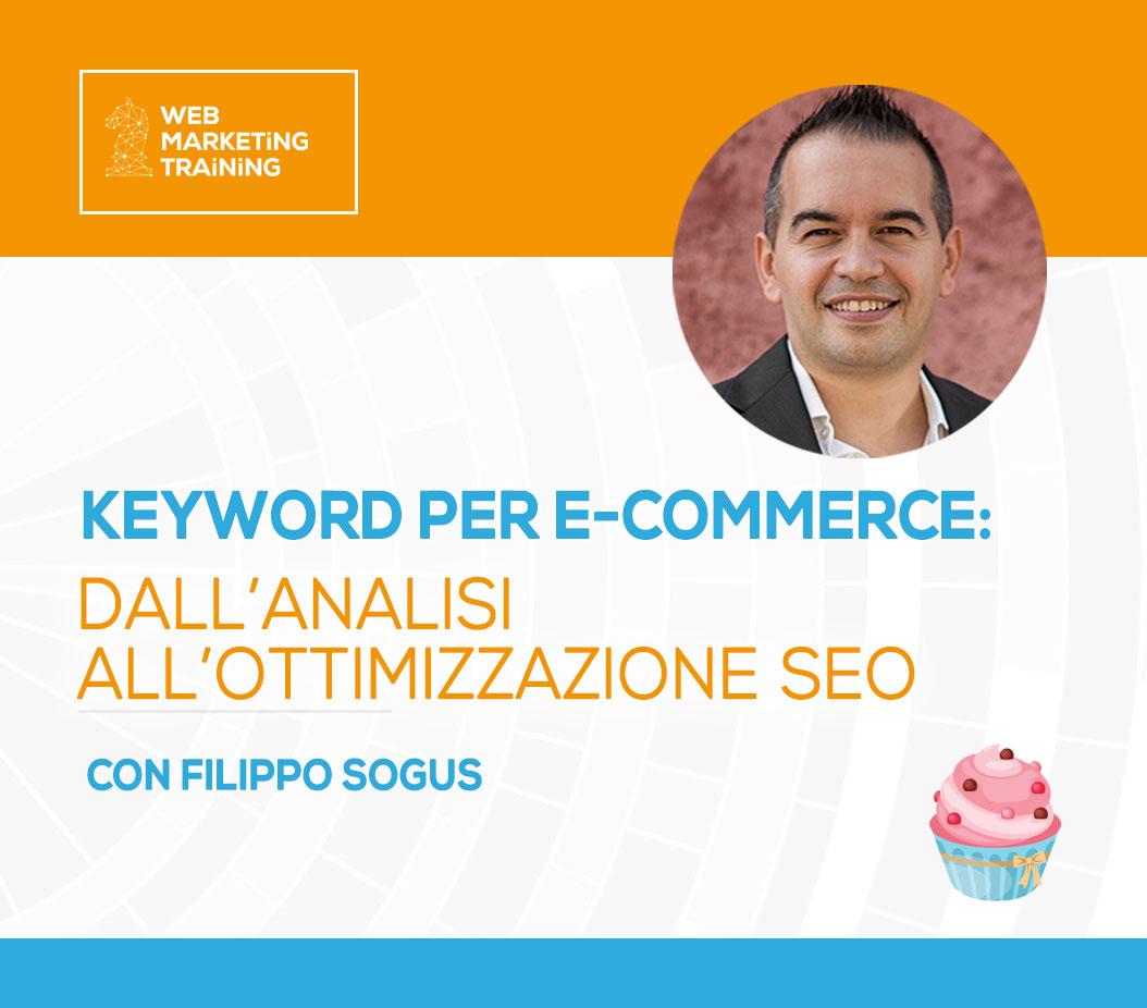 keyword ecommerce filippo sogus