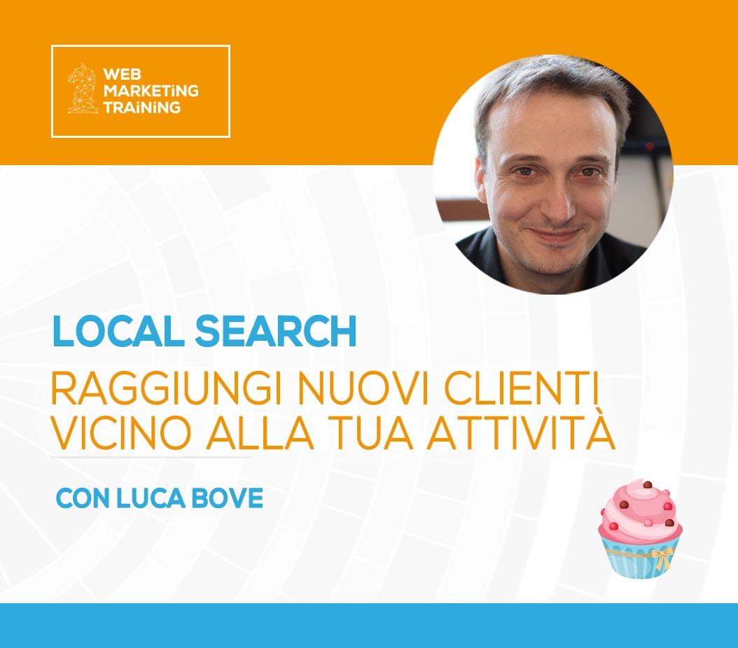 local search luca bove corso gratuito wmt