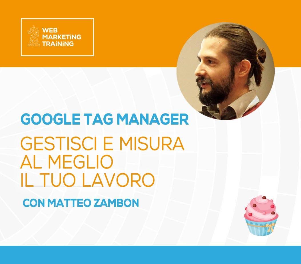 matteo zambon relatore web marketing training