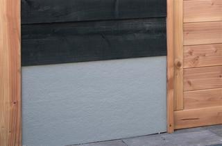 Trasraam A stucwerk grijs 178,5 x 34 cm.