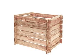 Compostsilo Fijnbezaagd Douglas 70 x 100 x 70 cm, onbehandeld