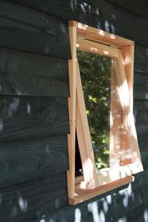 Douglas stelkozijn universeel tbv raam, groen geïmpregneerd.