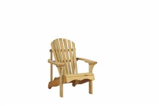 Canadian deckchair 90 x 72 x 90 cm (HxBxD).