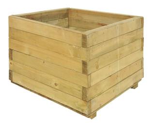 Bloembak vierkant 32 x 40 x 40 cm (HxBxD)