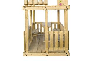 Picknickset t.b.v. speeltoestel Orang-Oetan, vuren
