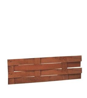 Hardhouten beschoeiingsmat 0,6 x 40 x 300 cm.