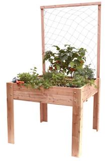 Douglas klimplantenframe met net 100 x 130 cm.