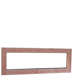 Douglas prestige vast (zijlicht) raam dubbel glas  afm 48,4 x 138,4 cm.