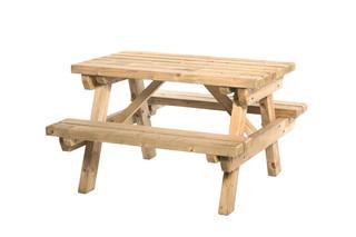 Junior picknicktafel Sven, bladmaat 89 x 52 cm.