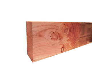Douglas fijnbezaagde gording 5,0 x 15,0 x 500 cm, onbehandeld.