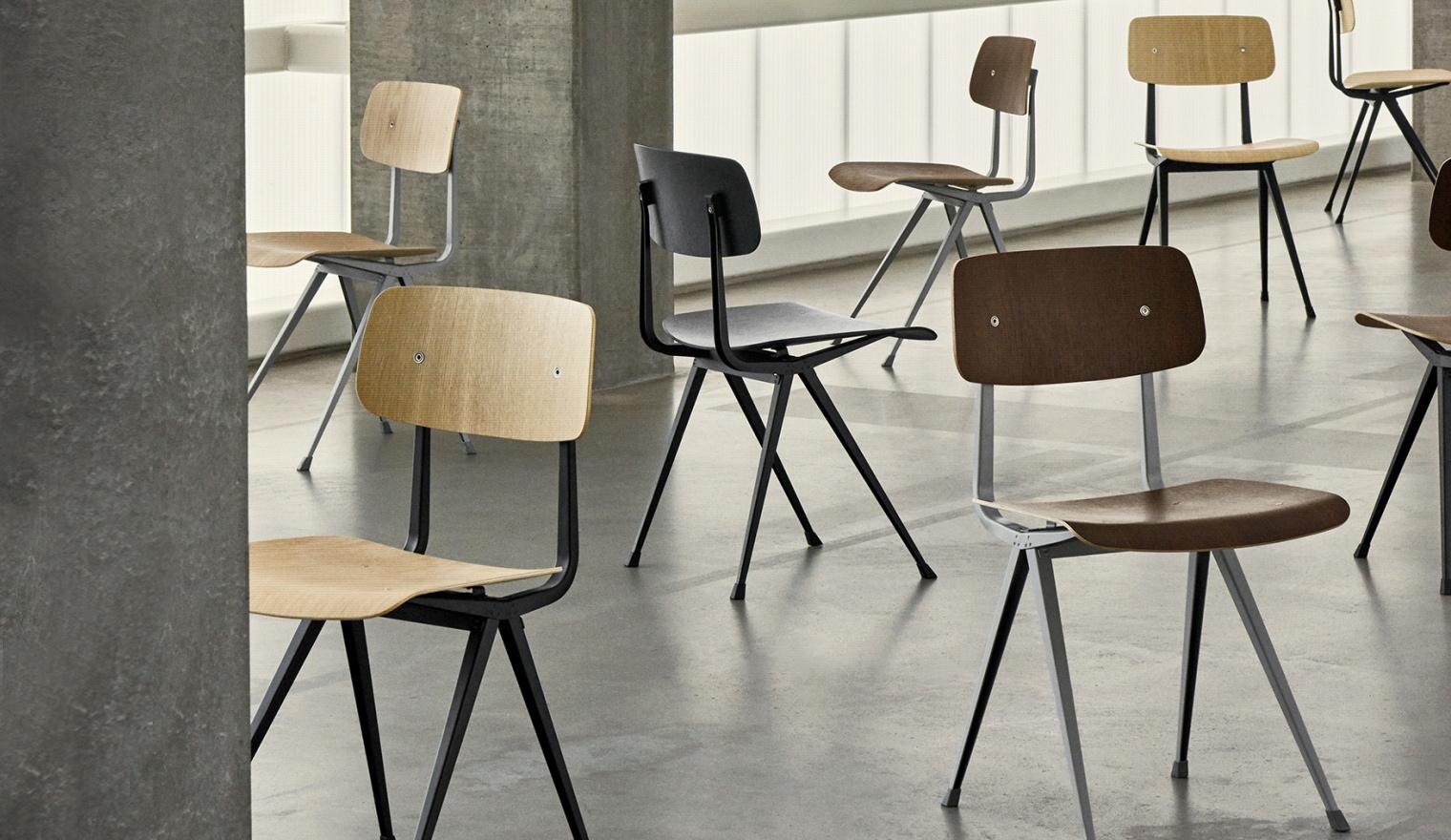 Design Stoelen Fabriek.Result Stoel Van Innovatief Tot Iconisch Design Woonhome Nl