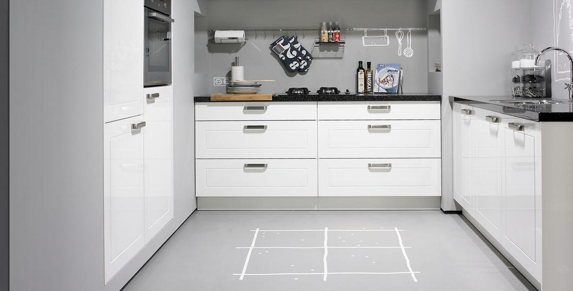 3 simpele stappen om je keuken samen te stellen woonhome for Simpele keuken