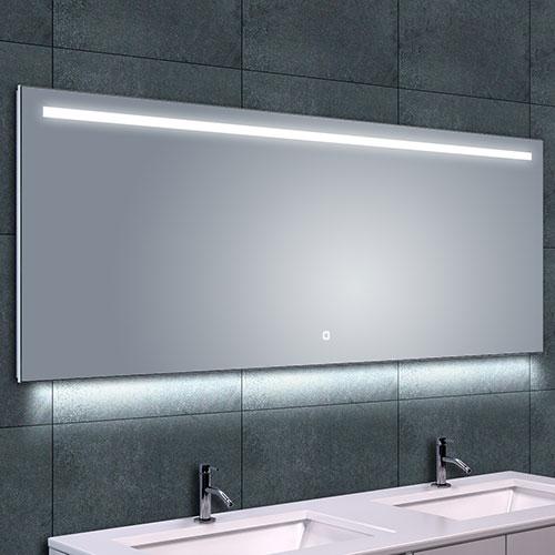 Badkamer Spiegel Met Verwarming En Verlichting.Badkamerspiegel Wiesbaden Ambi One 160x60cm Geintegreerde
