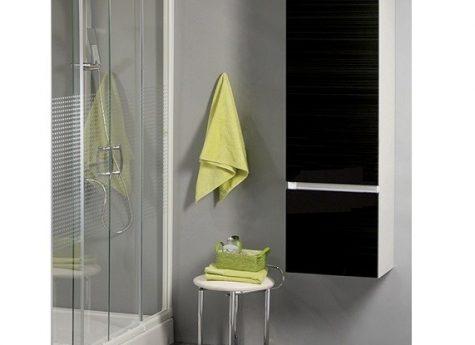 Badkamerkast Zwart Hoogglans : Badkamerkast stars hoogglans zwart u woonhome woonhome