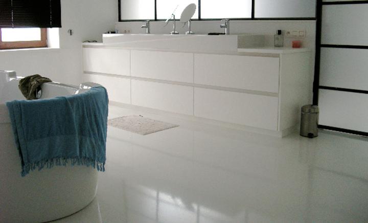 Welke Gietvloer Badkamer : Stijlvolle gietvloeren in de badkamer u2022 woonhome.nl woonhome.nl
