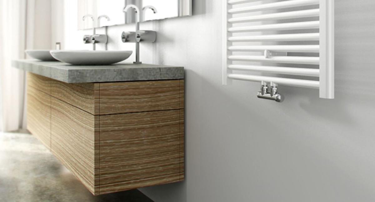 Muebles davinci badkamermeubel cm met cm wastafel mat zwart