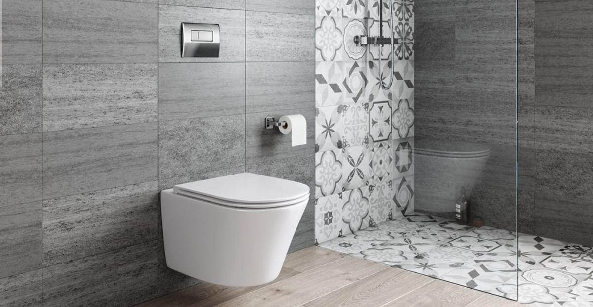 Een moderne badkamer met een design hangend toilet u2022 woonhome.nl