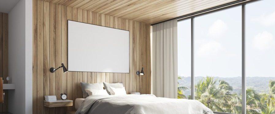 Breng textuur in huis met een wand van multiplex