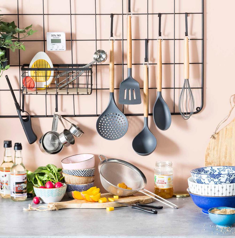Mooie en handige opbergspullen en keukengereedschap voor jouw keuken.