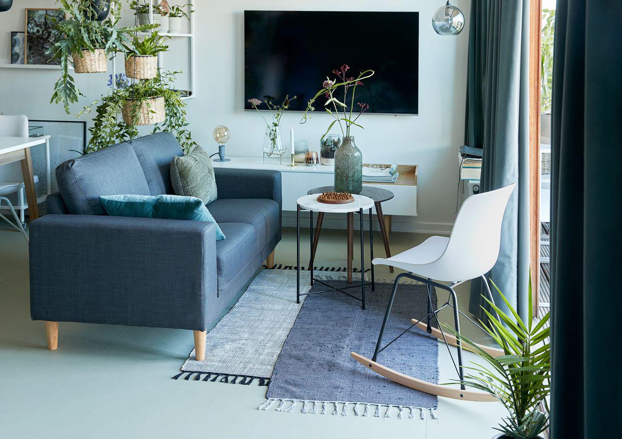 TV uit en heerlijk offline genieten van je botanische interieur met mooie nature woonaccessoires.