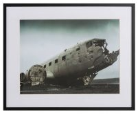 Broken plane by Blair Fraser-