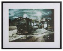 Bus fire by Hans Eiskonen-