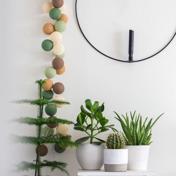Forest Green - 35 cottonballs