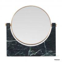 Marble Mirror - donkergroen marmer-