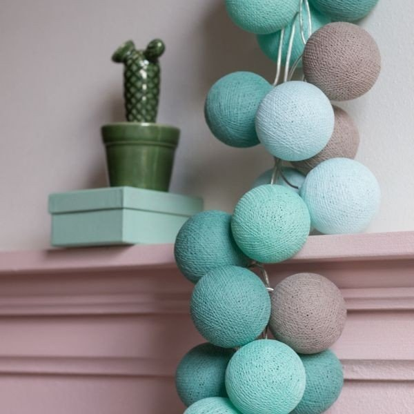 Mint - 20 cottonballs