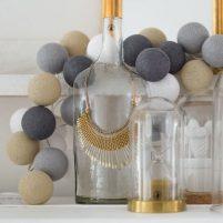 Sand-Grey - 20 cottonballs